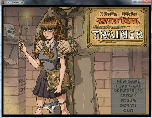 Witch Trainer – Updated - Version 1.6f