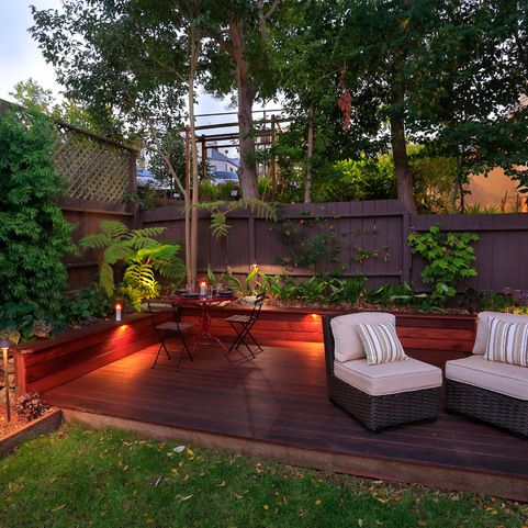 Small Backyard Deck Designs Design Ideas, Pictures, Remodel and Decor