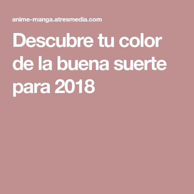 Descubre tu color de la buena suerte para 2018