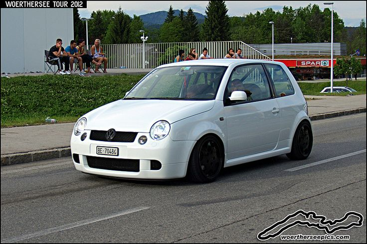 White VW Lupo GTI