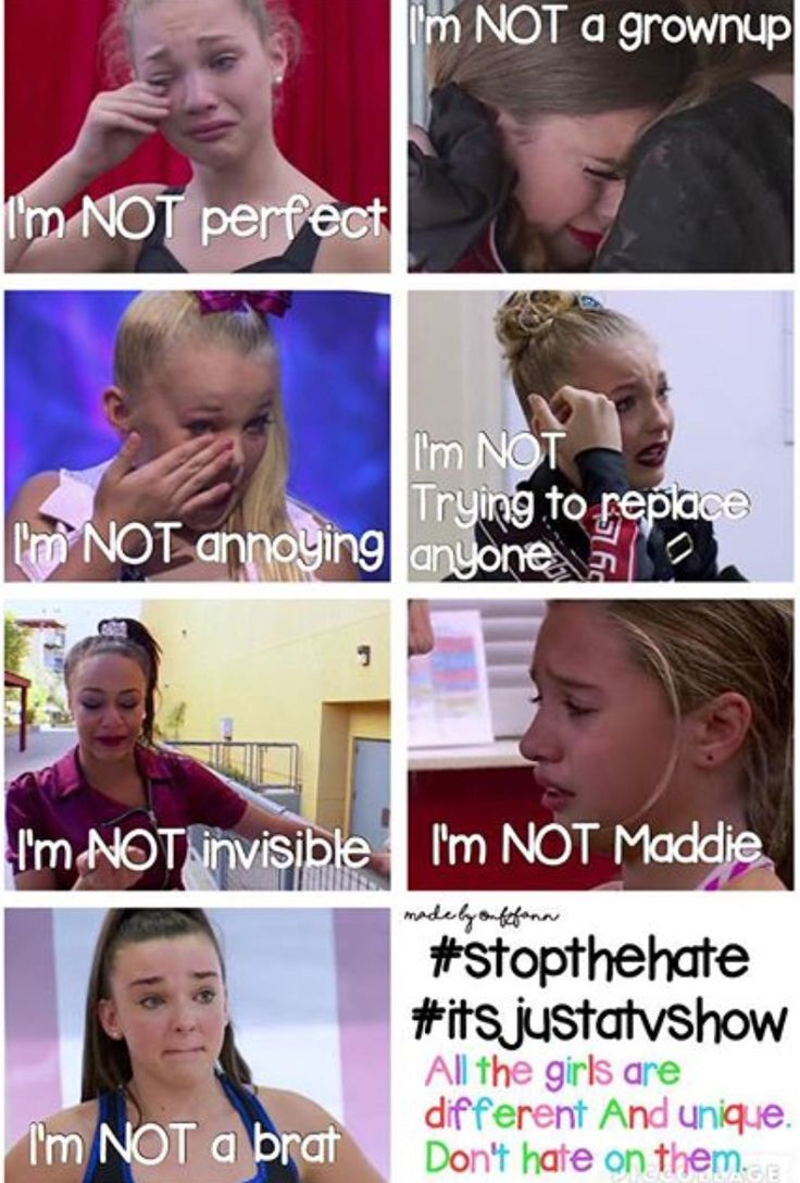 Stop the Hate Guys There Incredible Dancers!!! #StayStrongDanceMoms #StopTheHate