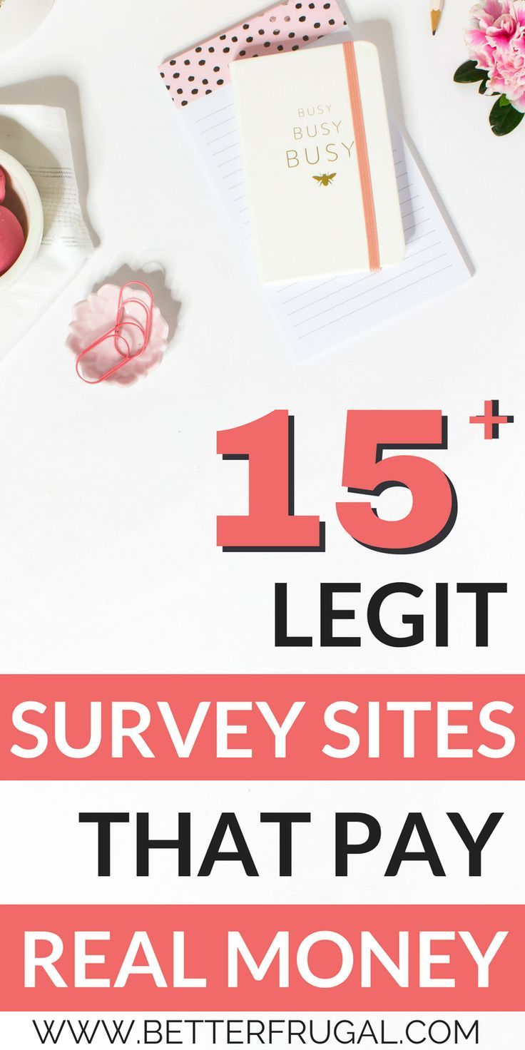 Awesome list of survey sites to help anyone earn a little extra income every month!  legitimate paid survey sites | online surveys that pay cash | real surveys that pay you |free paid surveys | survey sites to make money