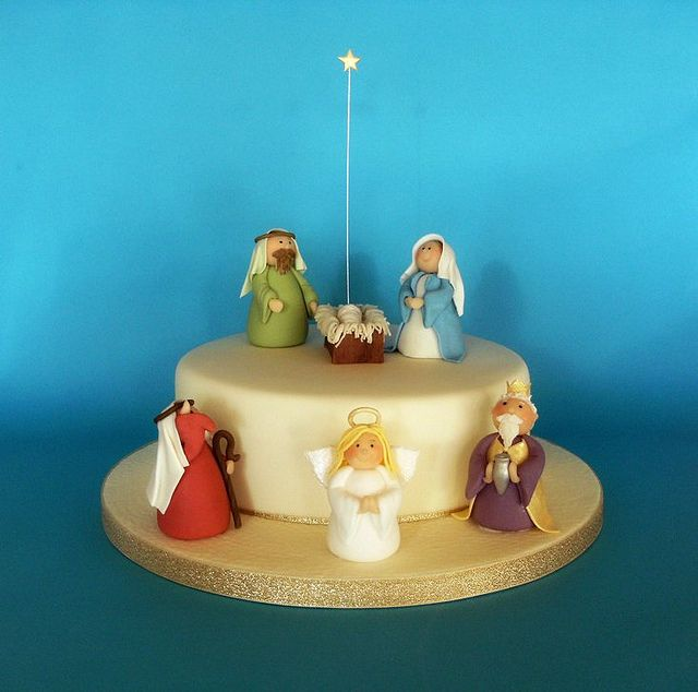 56 best Nativity Scene Cakes & Treats images on Pinterest ...