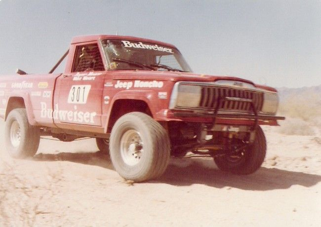 You have to love the old desert racing Jeep Honcho trucks!