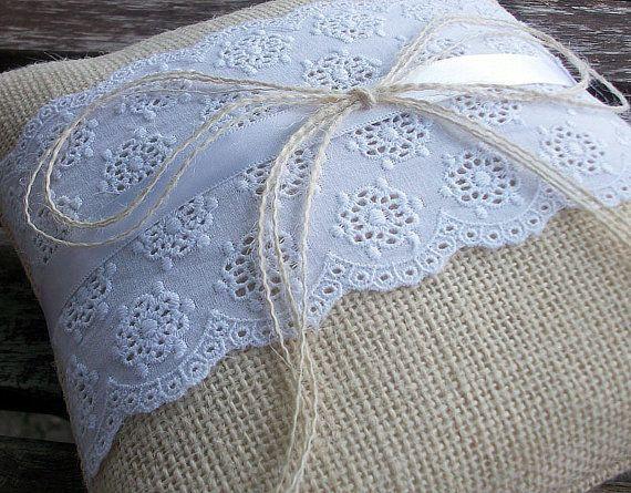 Love this ring bearer pillow