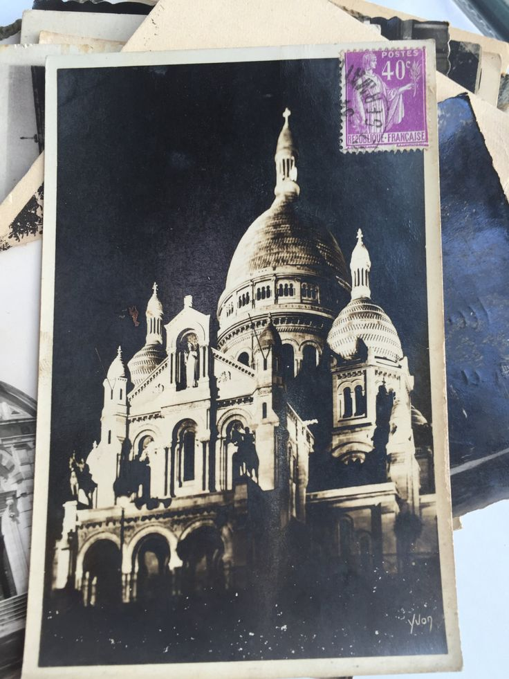 Sale 45 Vintage and Antique French postcards pack * Monuments / Sightseeing of…