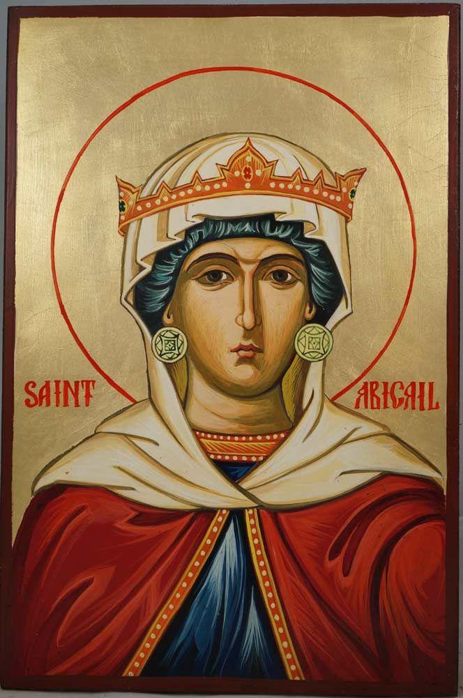 Saint Abigail Hand-Painted Orthodox Icon