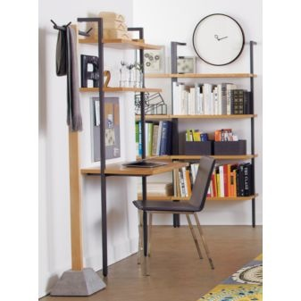 Helix Wall Mounted Desk From CB2 Perfect For Laptop Work Would Go Well W