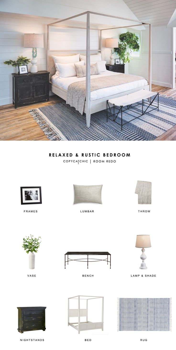 Copy Cat Chic Room Redo | Relaxed and Rustic Bedroom | Copy Cat Chic | Bloglovin'