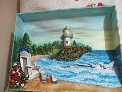kardeşime yaptığım deniz feneri