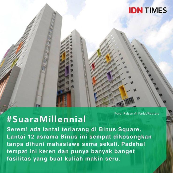 Setiap kampus biasanya menyimpan kisah mengerikan masing-masing. Nggak terkecuali BINUS! . Ada beberapa rumor dan mitos horror seputas kampus #BINUS yang terletak di daerah #JakartaBarat ini. . Salah satunya adalah pengosongan lantai asrama BINUS, atau yang sering disebut #BINUSSquare. . BINUS Square adalah dormitory resmi yang dimiliki BINUS. Jaraknya juga dekat dengan kampus BINUS Anggrek. . Tempat ini keren dan punya banyak banget fasilitas yang buat kuliah makin seru. Tapi, dibalik semua…