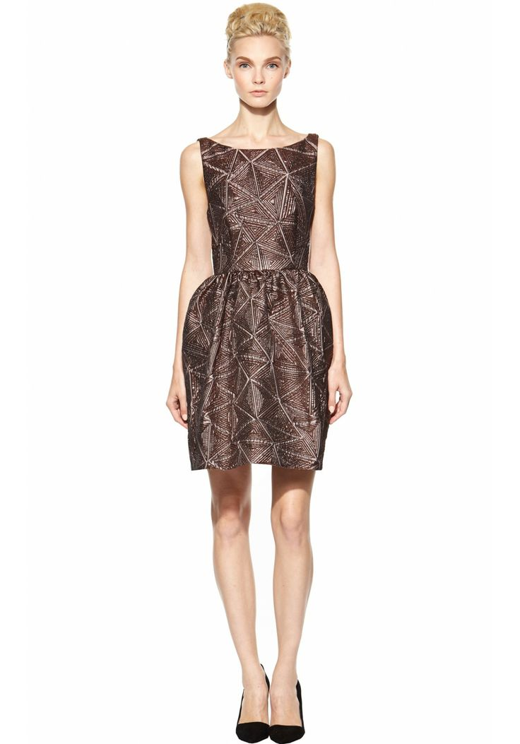 lillyanne puff skirt mini dress dresses alice olivia fit and flare