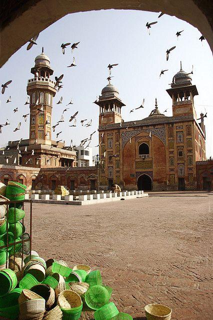 Wazir Khan Masjid. Lahore, Pakistan