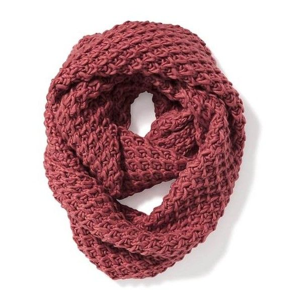 Honeycomb-Knit Infinity Scarf for Women | Old Navy ($20) ❤ liked on Polyvore featuring accessories, scarves, tube scarf, infinity scarf, knit infinity scarves, knit shawl and circle scarves
