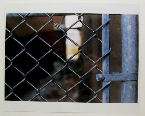 $29.99  Signed Limited Edition Photograph School Yard Blues 4 BY Eduard Urwalek | eBay #fence #photography