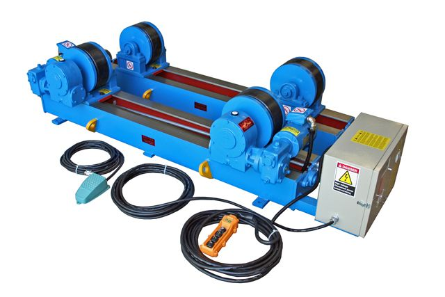 Manual controlled panel with buttons makes movable welding #turnning #rolls operate more convenient...https://goo.gl/tyT0Hc