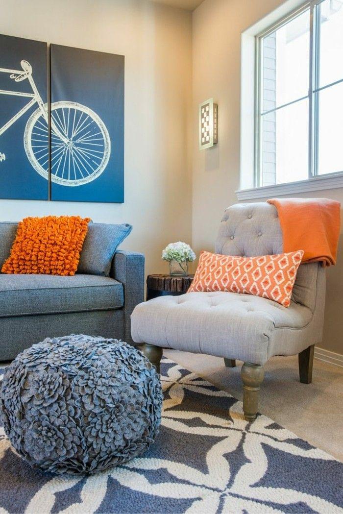 Tangerine- der favorisierte Trend in der Farbgestaltung 2018 ...