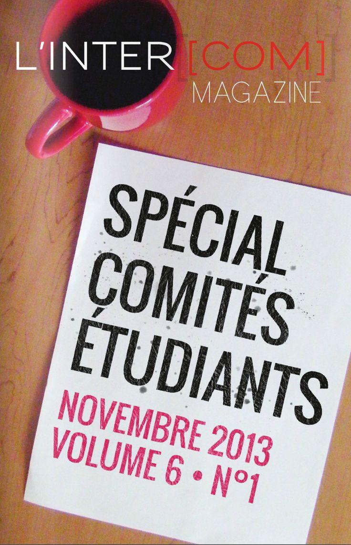 Novembre 2013 #intercom #magazine #étudiant