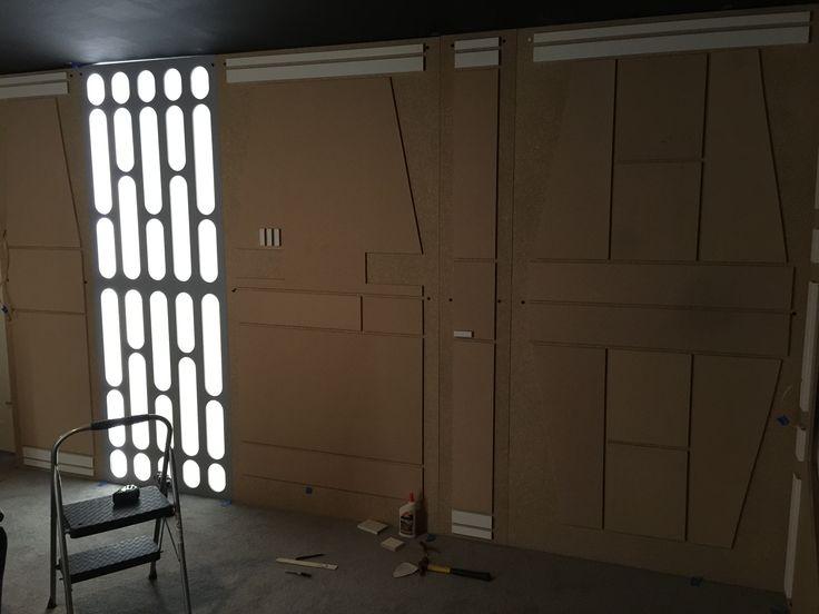 Star Wars Wall Panels Star Wars Room Star Wars Bedroom