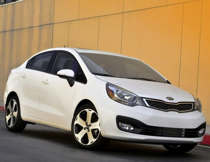 kia rio sedan new фото