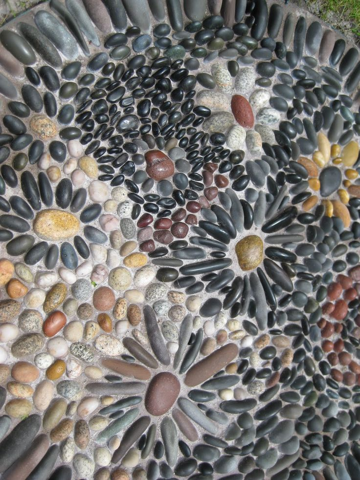 935 best Pebble Mosaics images on Pinterest Pebble mosaic