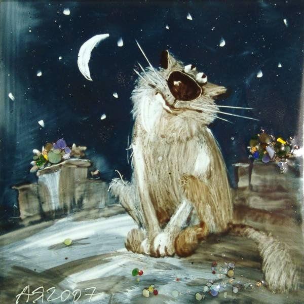 Anatoly Yaryshkin (Анатолий Ярышкин рисунки котов