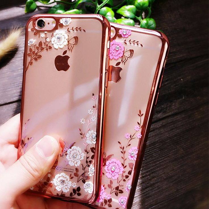 For Capinha iPhone 6 5S SE 6 Plus 7 Plus Chic Flower Flora Bling Diamond Rhinestone Clear Soft TPU Case For iPhone 7 Case Para // iPhone Covers Online //   Price: $ 13.93 & FREE Shipping  //   http://iphonecoversonline.com //   Whatsapp +918826444100    #iphonecoversonline #iphone6 #iphone5 #iphone4 #iphonecases #apple #iphonecase #iphonecovers #gadget #gadgets
