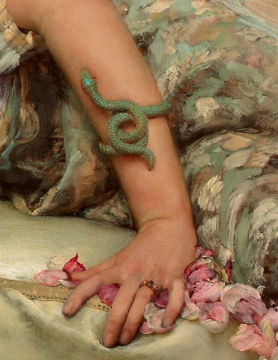 Sir Lawrence Alma-Tadema,The Roses of Heliogabalus (1888) detail