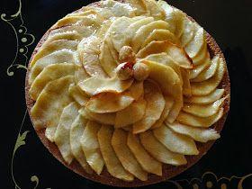 Crostata di mele di  Gianluca Fusto. Frolla alle nocciole