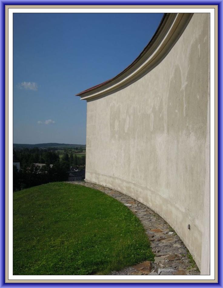 UNESCO - Zelena Hora wall