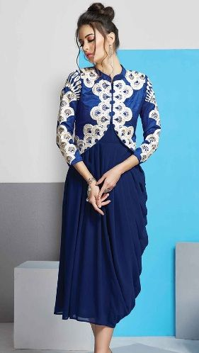 976dc6ca6b8 25 Latest Designer Kurti Designs for Women in Fashion 2019 | Designs ...