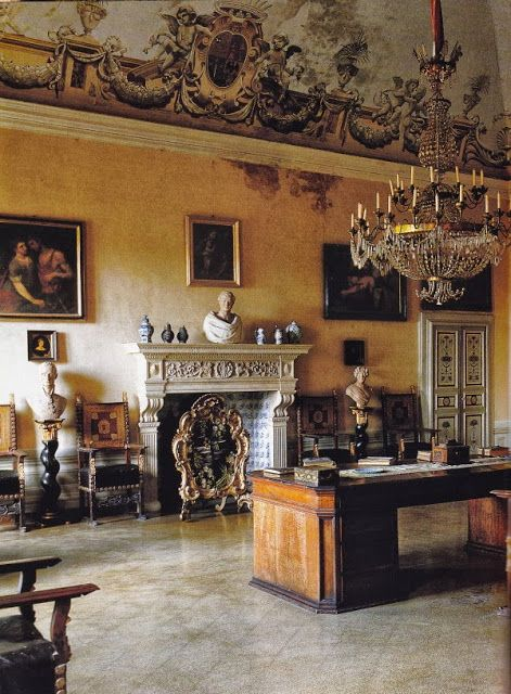 Villa di Geggiano, Italy - family home and winery of the Bianchi Bandinelli family since 1527