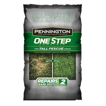 Pennington 1-Step Complete Tall Fescue Grass Seed, 8.3 lbs, Multicolor