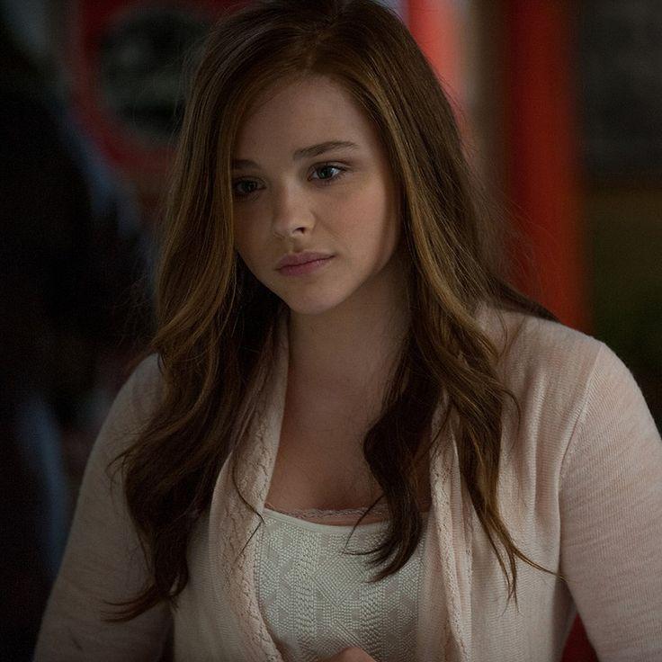 Chloe Moretz Brown Hair