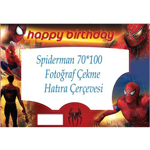 Spiderman Örümcek Adam Doğum Günü Hatıra Çerçevesi 70x100cm https://www.paparti.com/spiderman-orumcek-adam-dogum-gunu-hatira-cercevesi-70x100cm