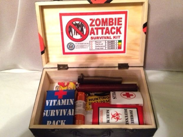 zombie survival kit diy | Apocalypse and Survival | Pinterest