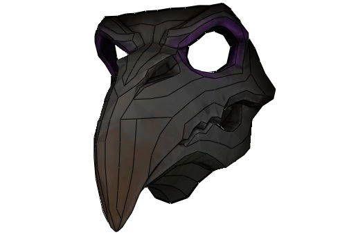 Overwatch - Tamaño vida nunca más Máscara del segador de la piel Papercraft descargar GRATIS