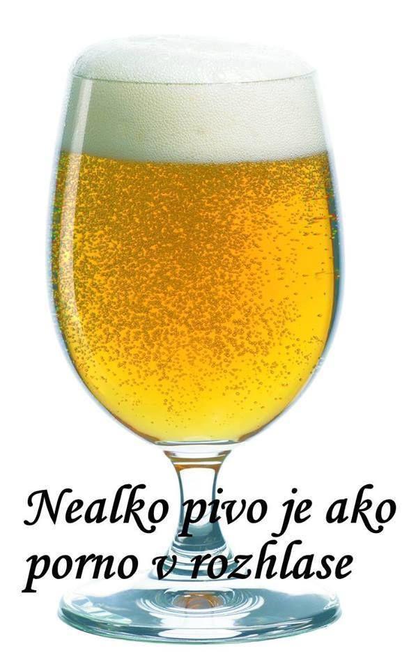 Nealko pivo je jako porno v rozhlase.