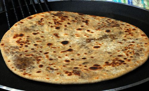 kheemaparatha indian food