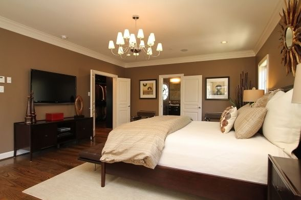 Warm Master Bedroom Pinterest • T...
