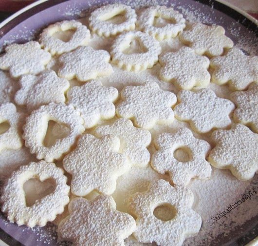 ♥Fabipasticcio: Biscotti di frolla senza glutine senza lattosio senza latte vaccino Shortbread cookies gluten free dairy free cow milk free