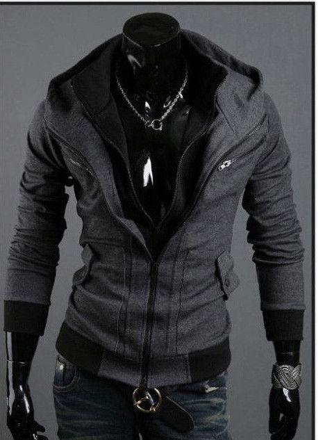 Clothing Length: Regular Style:Assassin Material: Cotton Sleeve Length: Full Fabric Type: Chiffon Item Type: Sweatshirts, Hoodies Gender: Men, Women