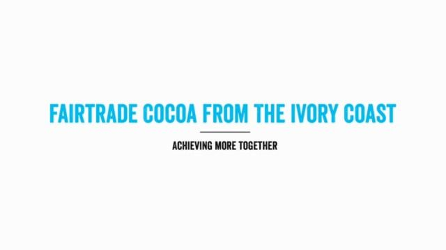 ECOOKIM is a Fairtrade certified cooperative in the Ivory Coast. Selling cocoa on Fairtrade terms has brought the communities they serve many benefits.  Film produced by Fairtrade Deutschland