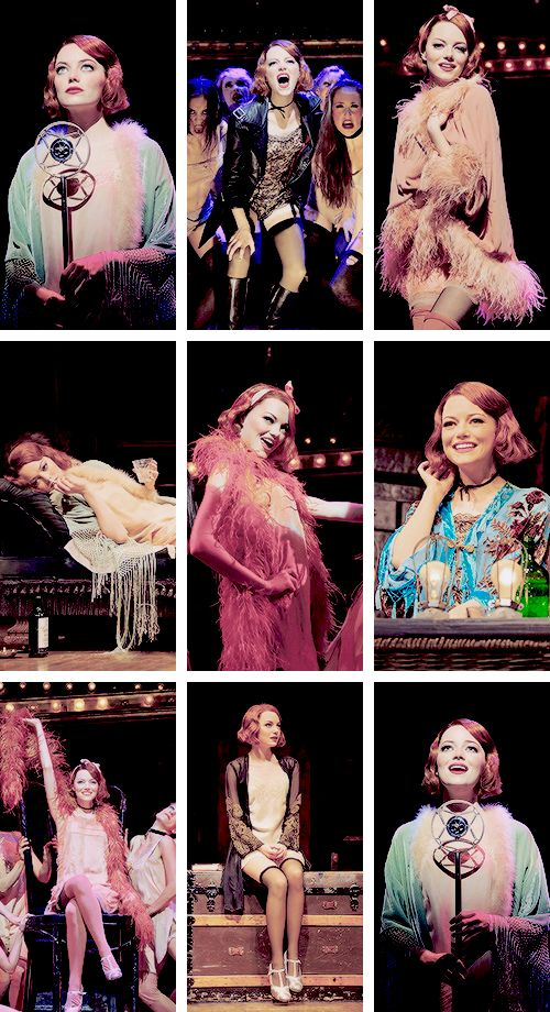 Emma Stone in Cabaret. I adore her.