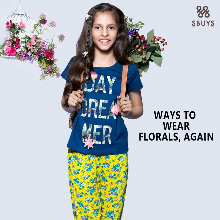 """WAYS TO WEAR"" FLORALS COLLECTION Shop Now :- http://www.sbuys.in #sbuys #kidswear #stylediva #latesttrends #fashionistas #newcollection #elegant #urbanstylewear #springseason #huesandtints #newarrivals #summers #lifeandstyletips"
