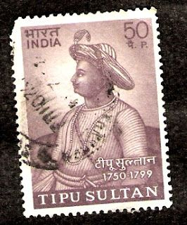 "TIPU SULTAN  1750-1799 Tipu Sultan also known as the Tiger of Mysore, was a great  muslim ruler of the kingdom of Mysore He was the son of Hyder Ali. He was given a number of  honorific titles, and was referred to as  Sultan Fateh Ali Khan Shahab, Tipu Saheb,  or Bahadur Khan Tipu Sultan.His mother Fatima or  Fakhr-un-nissa was the daughter of Shahal Tharique  governor of the fort of Kadapa.He earned the  name ""the Tiger of Mysore"""