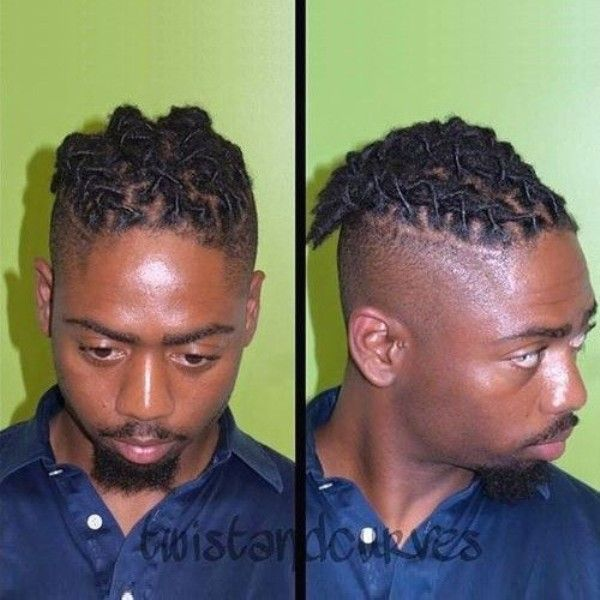 short dread styles for black men