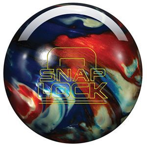 Latch up your prestige with the Storm Snap Lock Indigo/White/Copper bowling ball!