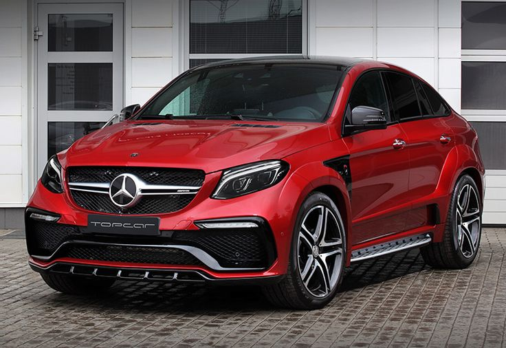 2016 Mercedes-AMG GLE 63 S Coupe TopCar Inferno