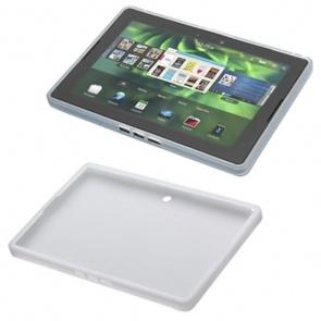 Husa BlackBerry ACC-30316-202 Gelskin White pentru BB Playbook